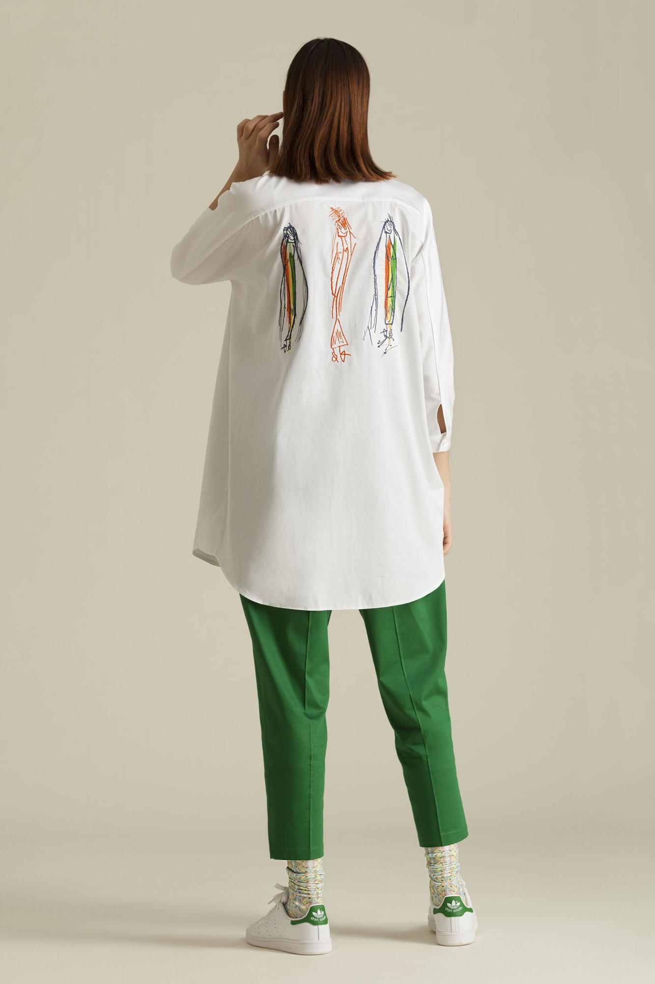 Kuaybe Gider - 1039 Gömlek Beyaz