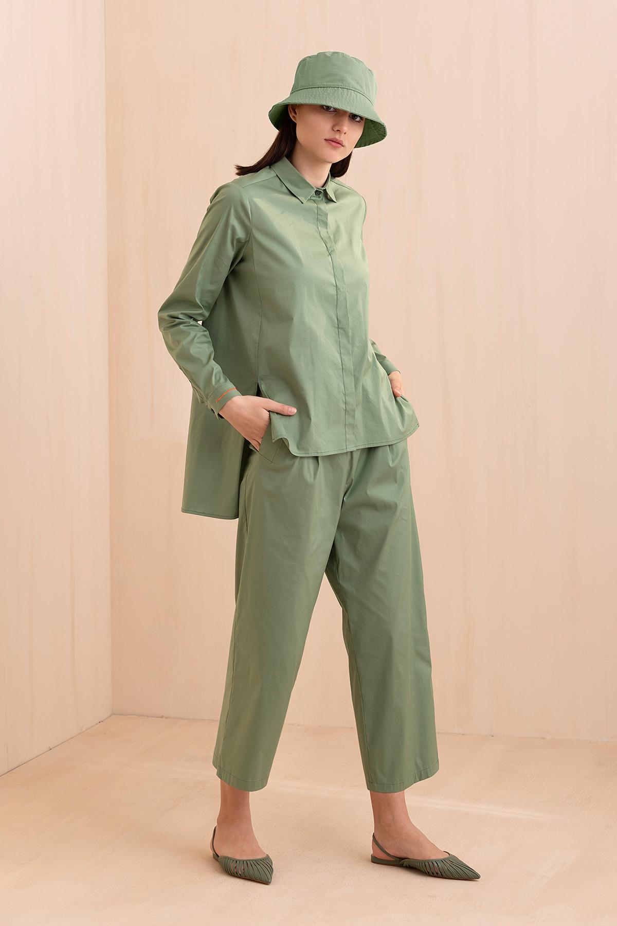 - 1044 Gömlek Yeşil