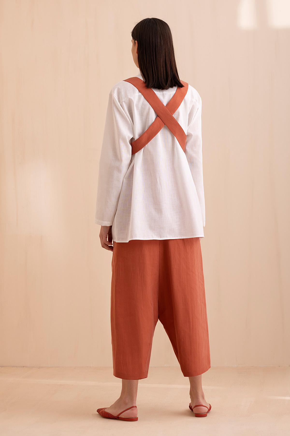 1047 Gömlek Beyaz