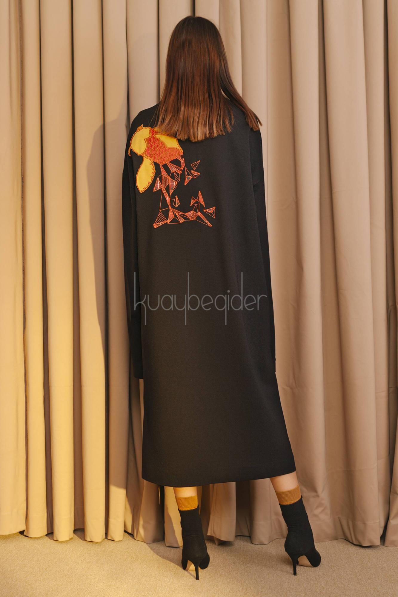 Kuaybe Gider - 2056 Elbise Siyah