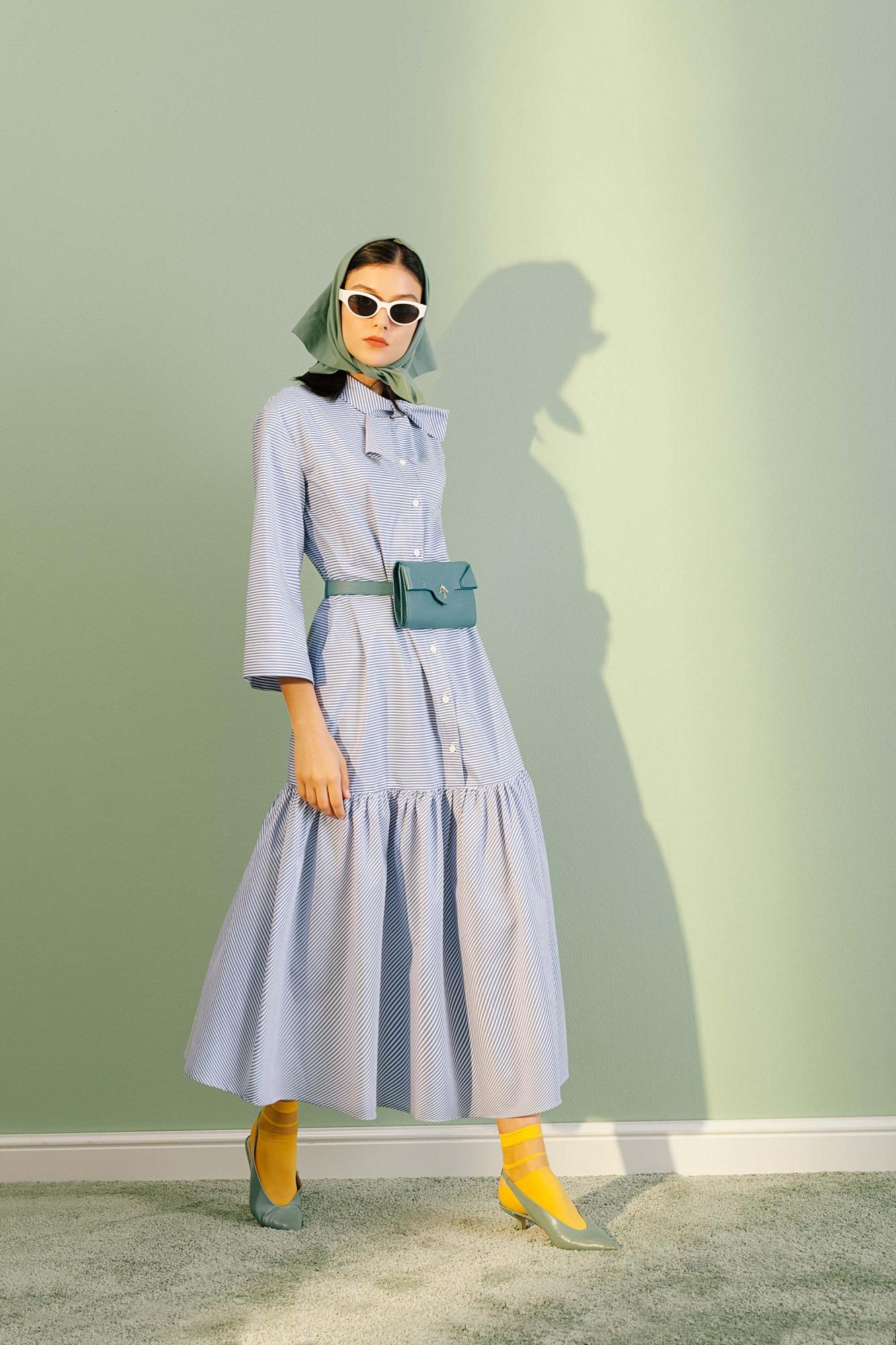 Kuaybe Gider - 2069 Elbise Mavi