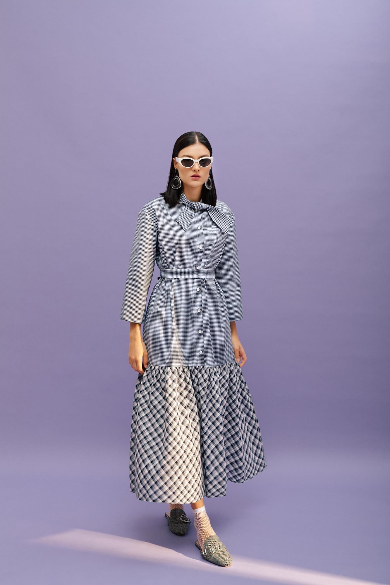Kuaybe Gider - 2070 Elbise Lacivert