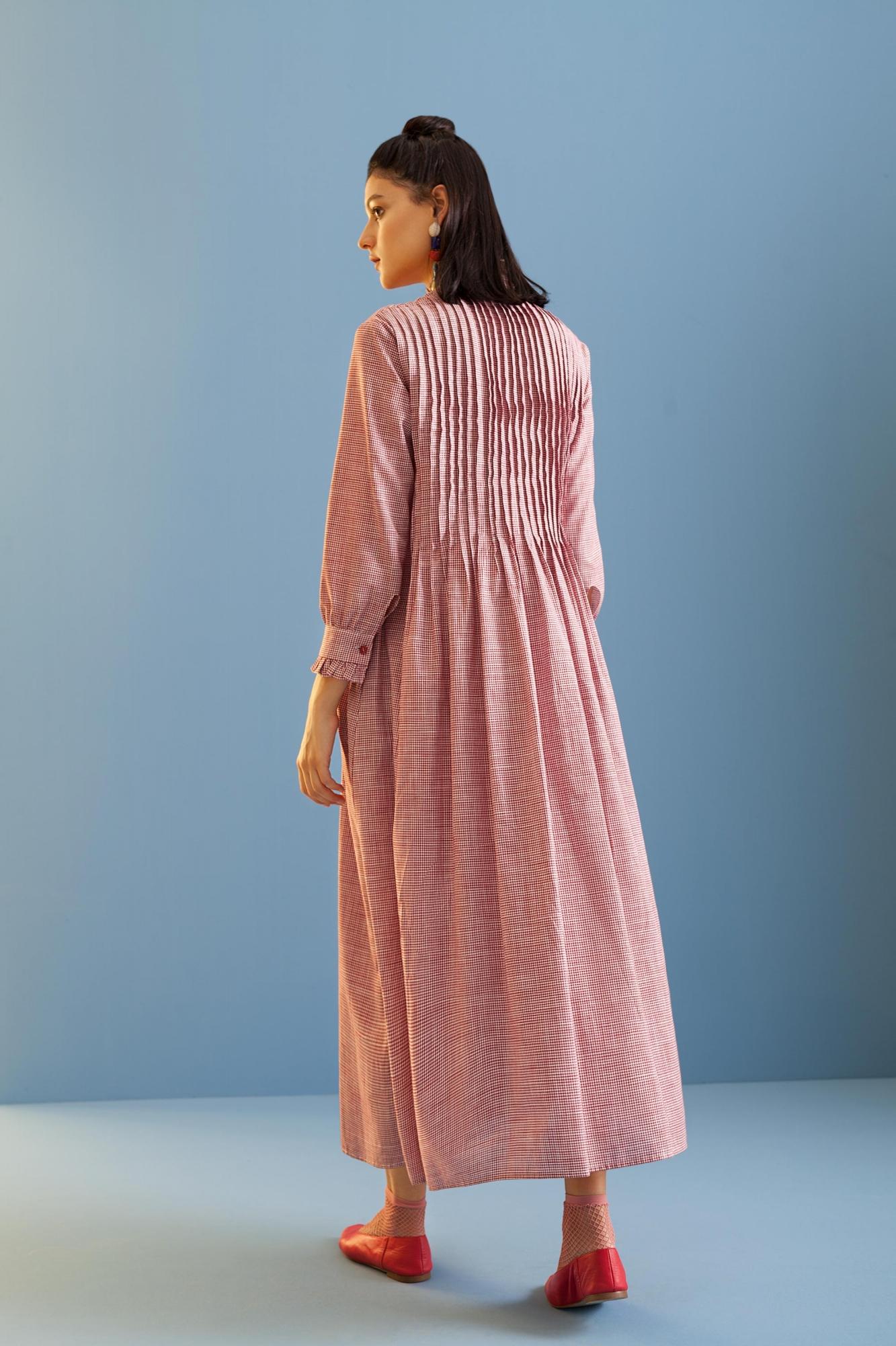 Kuaybe Gider - 2071 Elbise Kırmızı