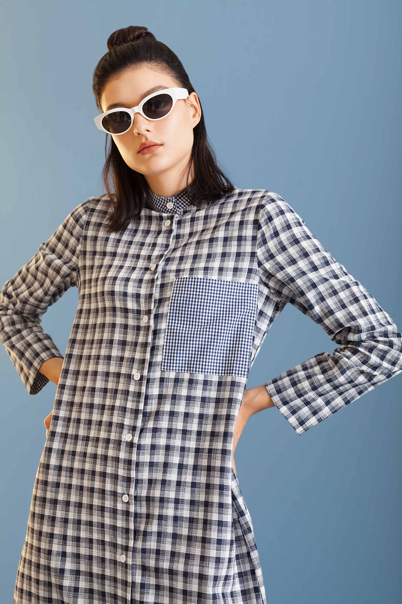 Kuaybe Gider - 2073 Elbise Lacivert