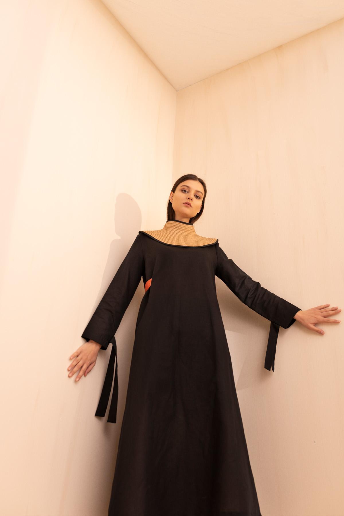 - 2087 Elbise Siyah