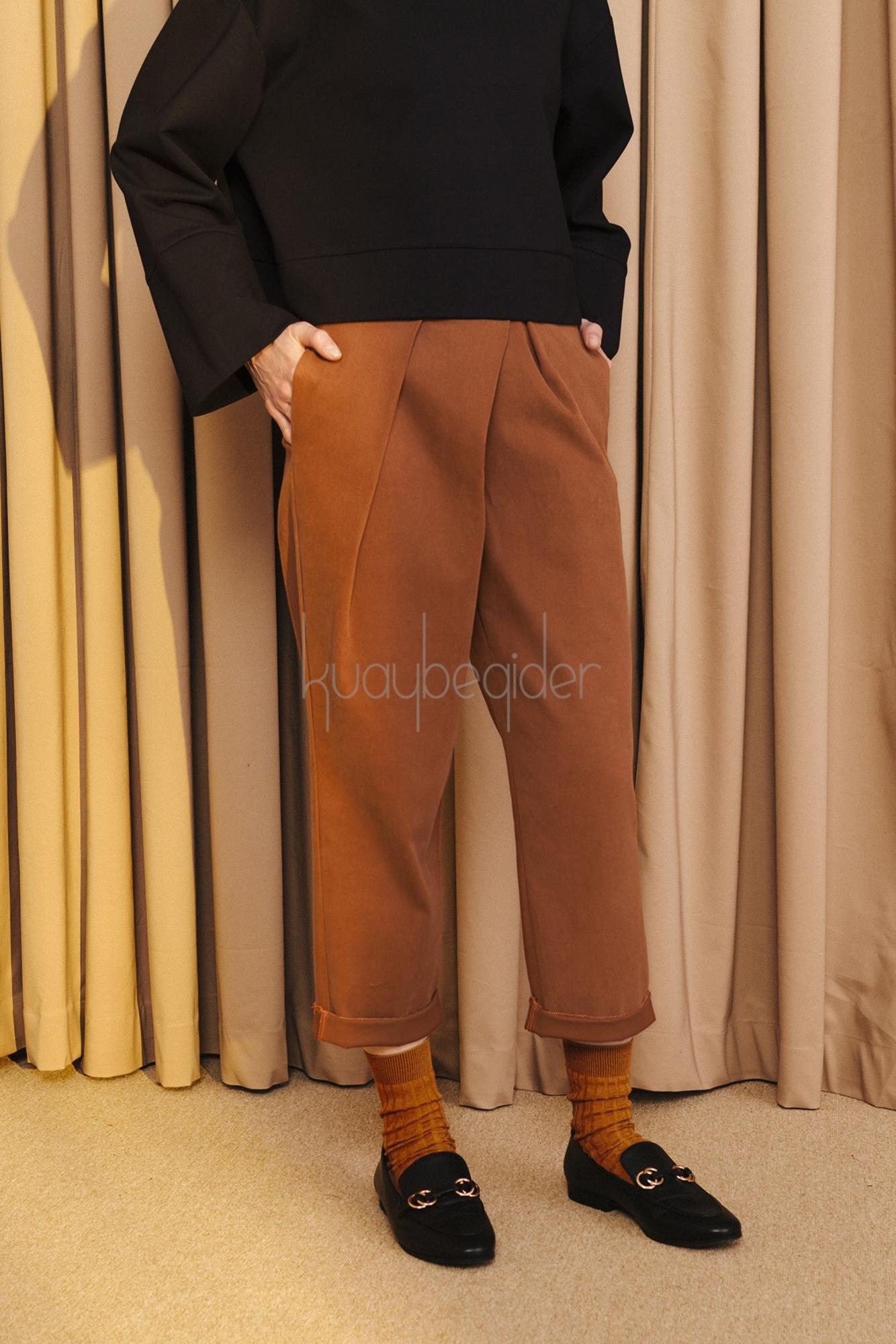 Kuaybe Gider - 4039 Tarçın Pantolon