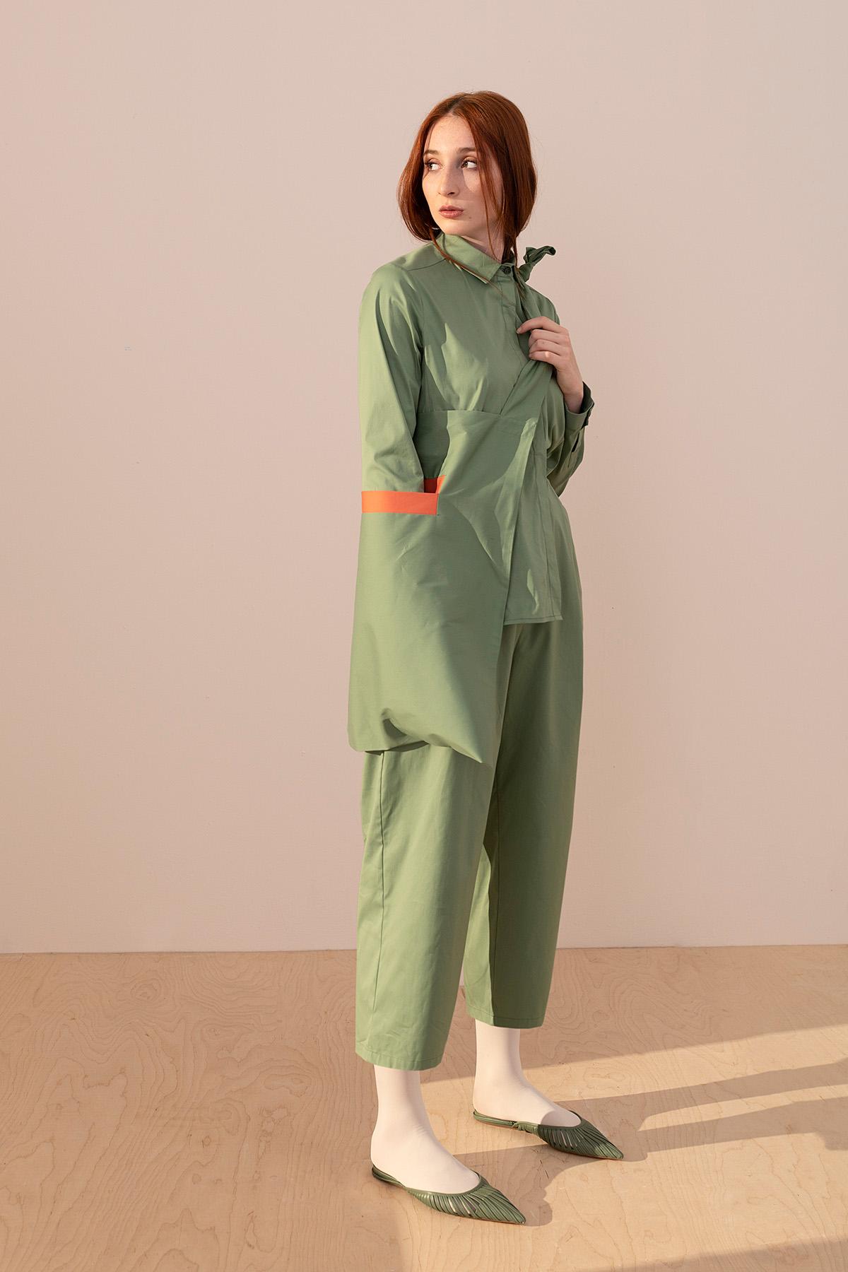 - 4056 Pantolon Yeşil