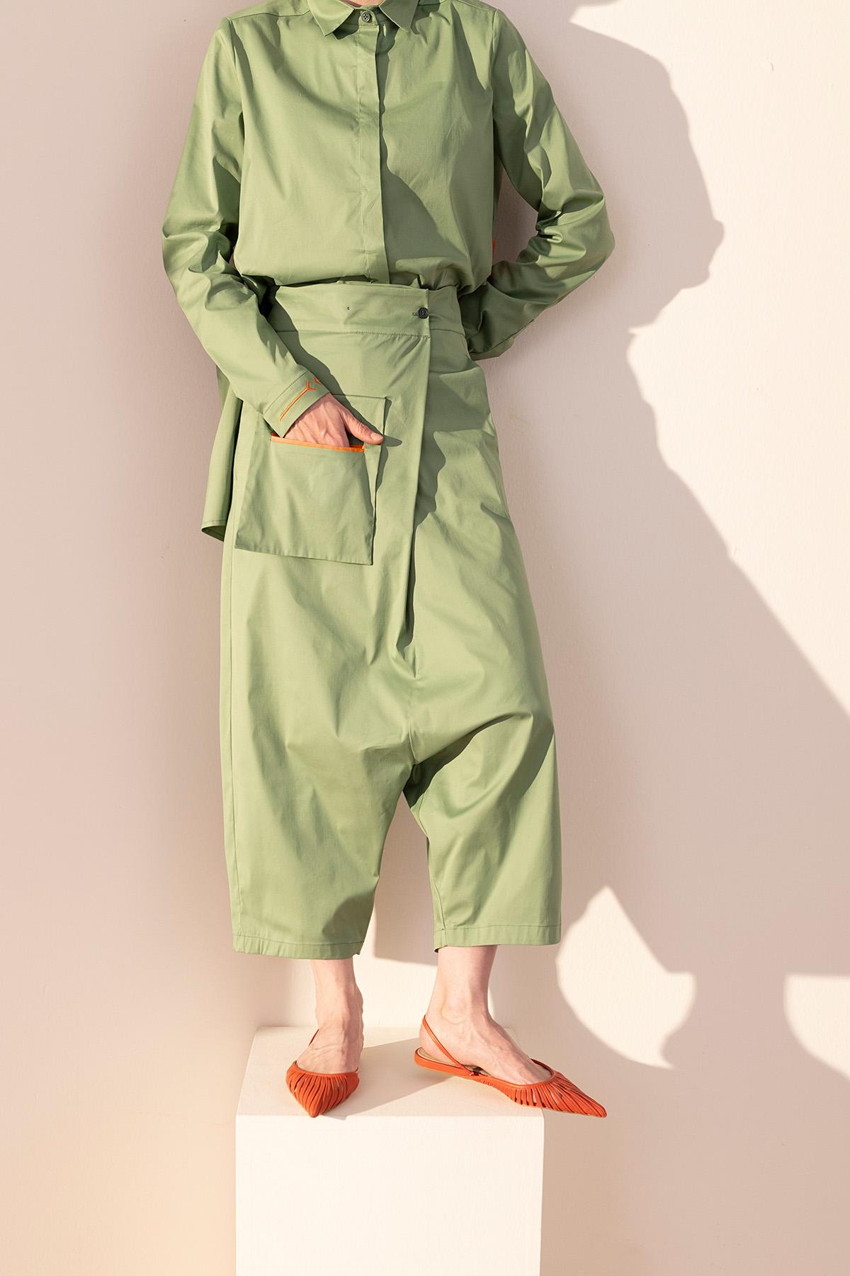 - 4057 Pantolon Yeşil
