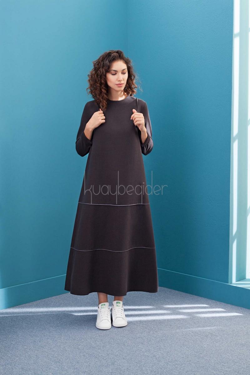 Kuaybe Gider - Antrasit Pride Elbise