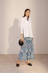 Coton Beyaz Luce Tunik - Thumbnail