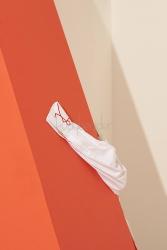 Coton Beyaz Yolo Tunik - Thumbnail