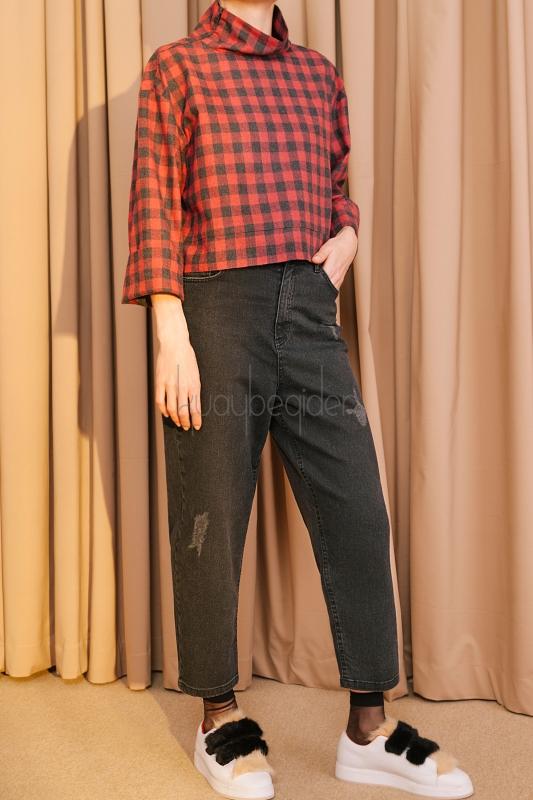 Kuaybe Gider - D4007 Pantolon
