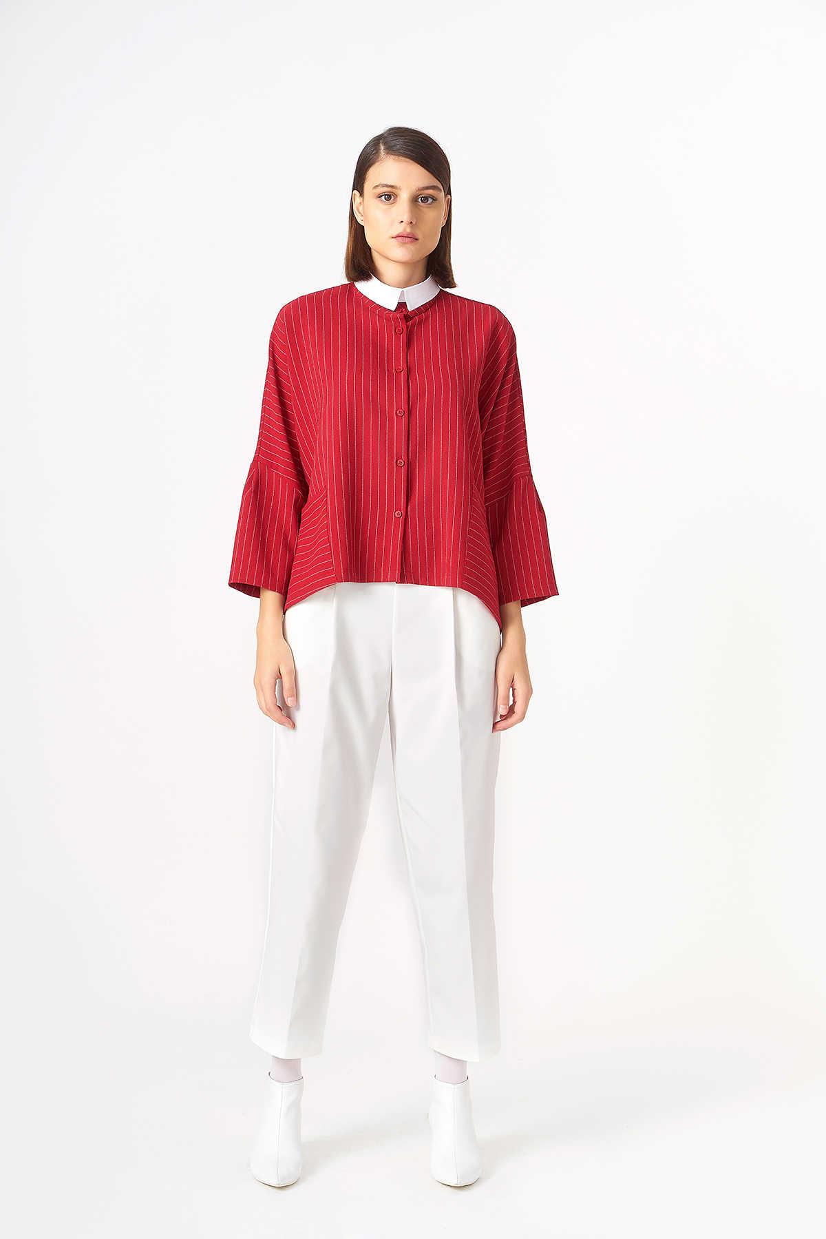 Kuaybe Gider - 1043 Gömlek Kırmızı