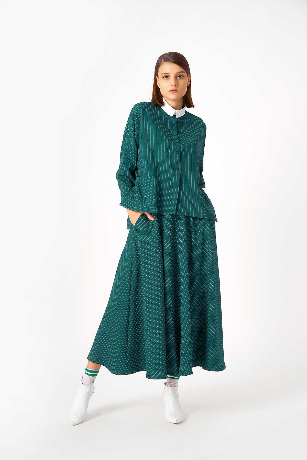 Kuaybe Gider - 1043 Gömlek Yeşil