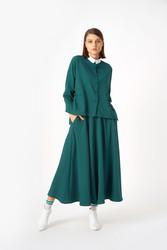 1043 Gömlek Yeşil - Thumbnail