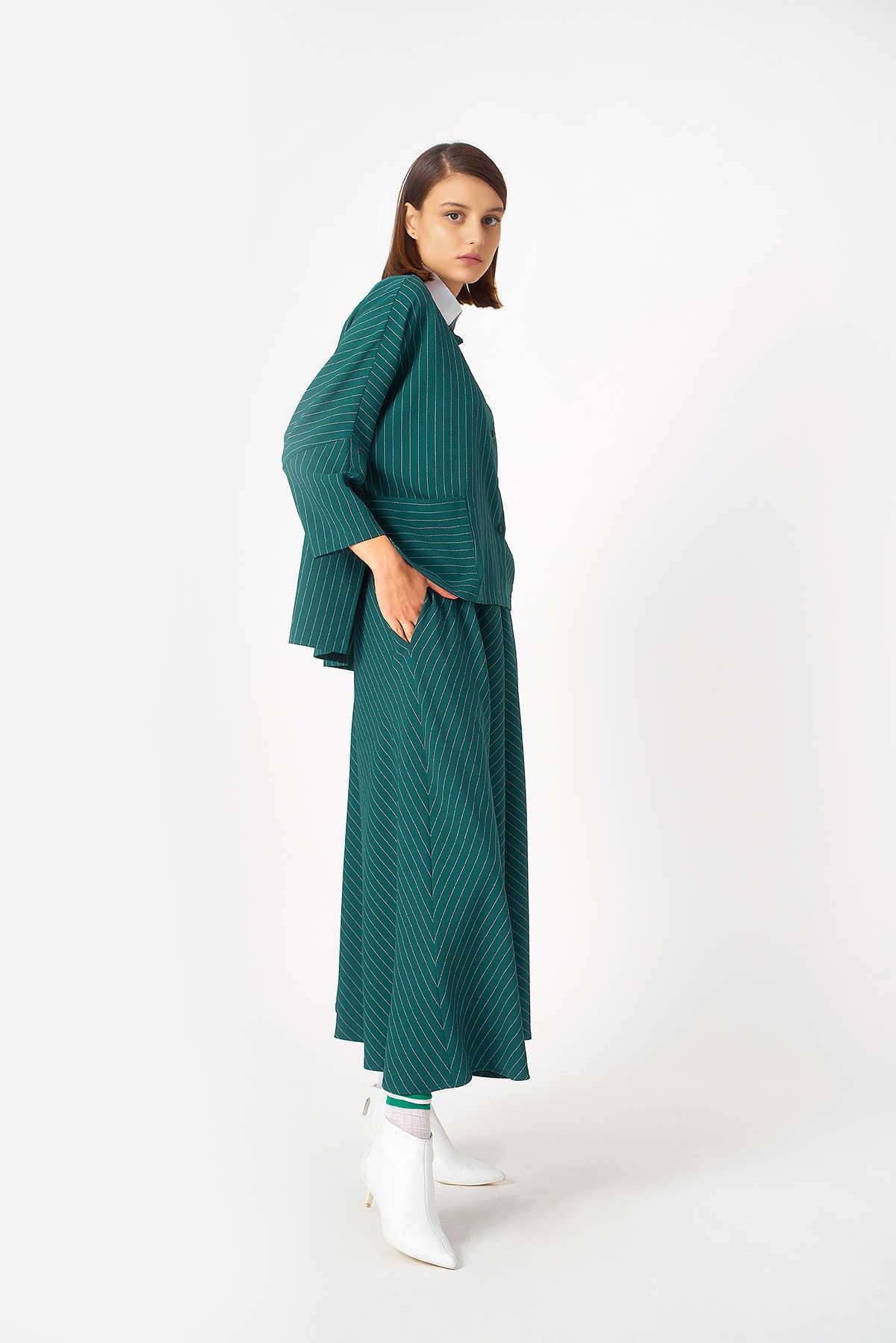 1043 Gömlek Yeşil