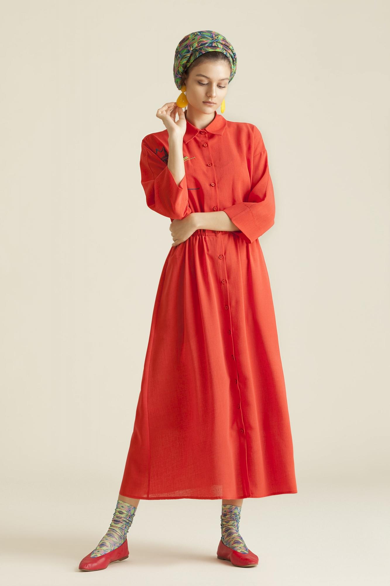 Kuaybe Gider - 2060 Elbise Nar