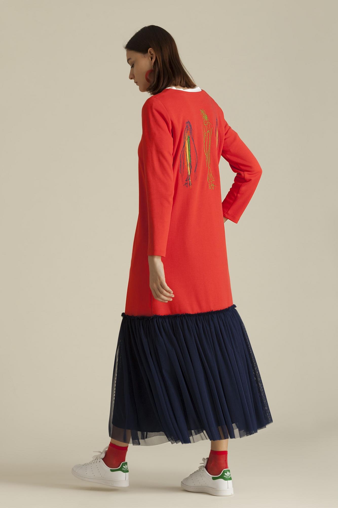 Kuaybe Gider - 2062 Elbise Nar K