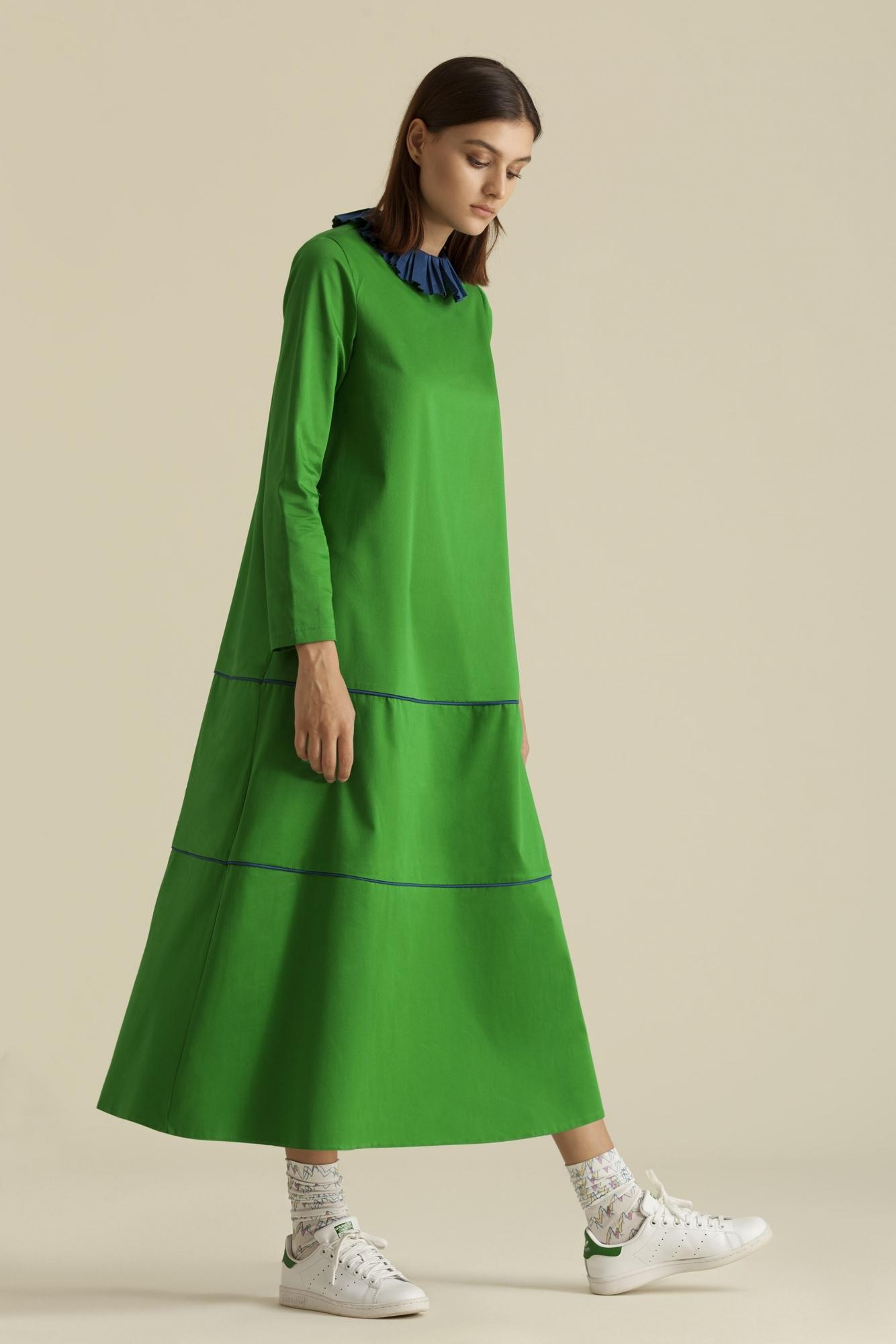 Kuaybe Gider - 2064 Elbise Yeşil