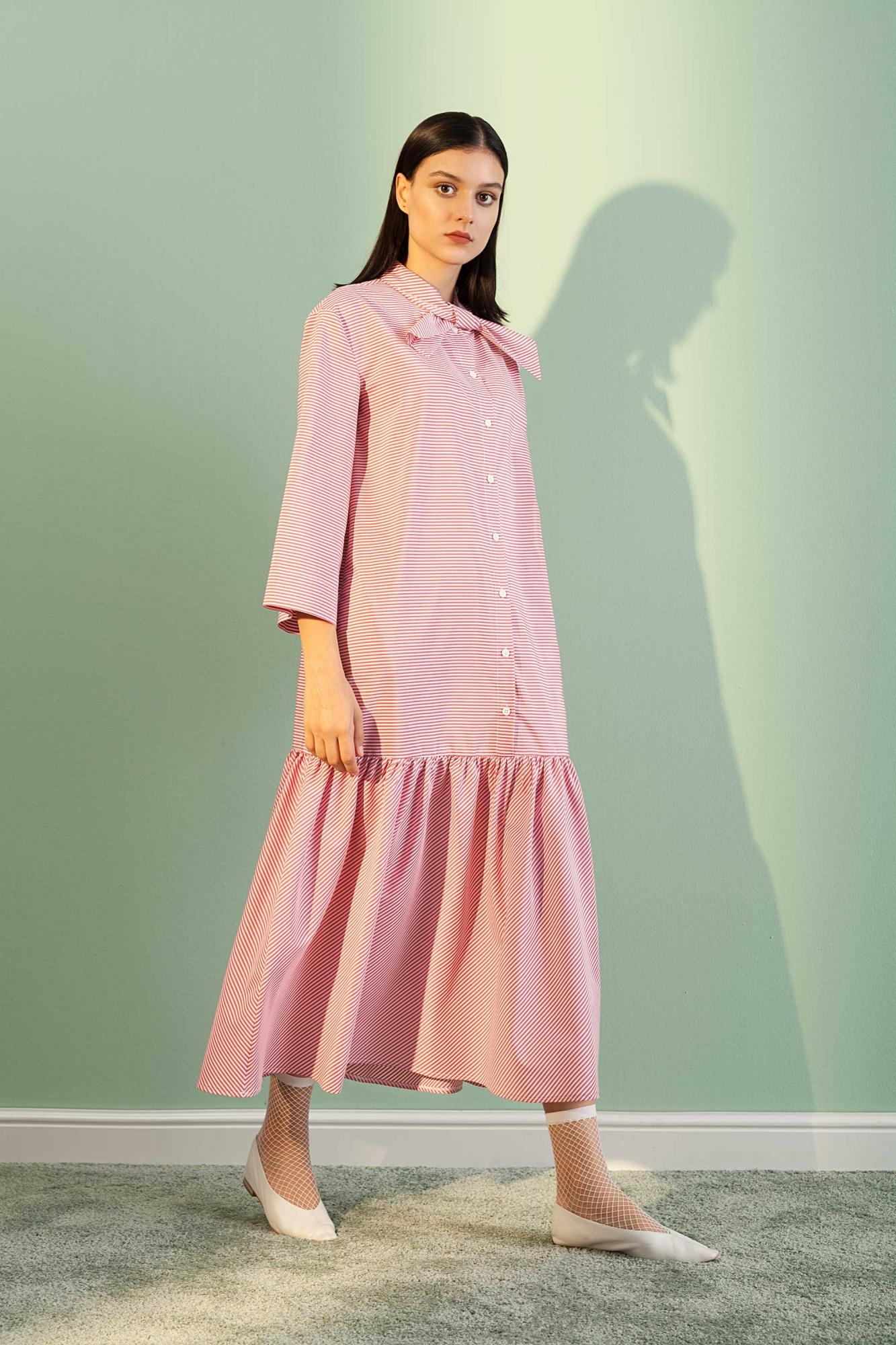 Kuaybe Gider - 2069 Elbise Kırmızı