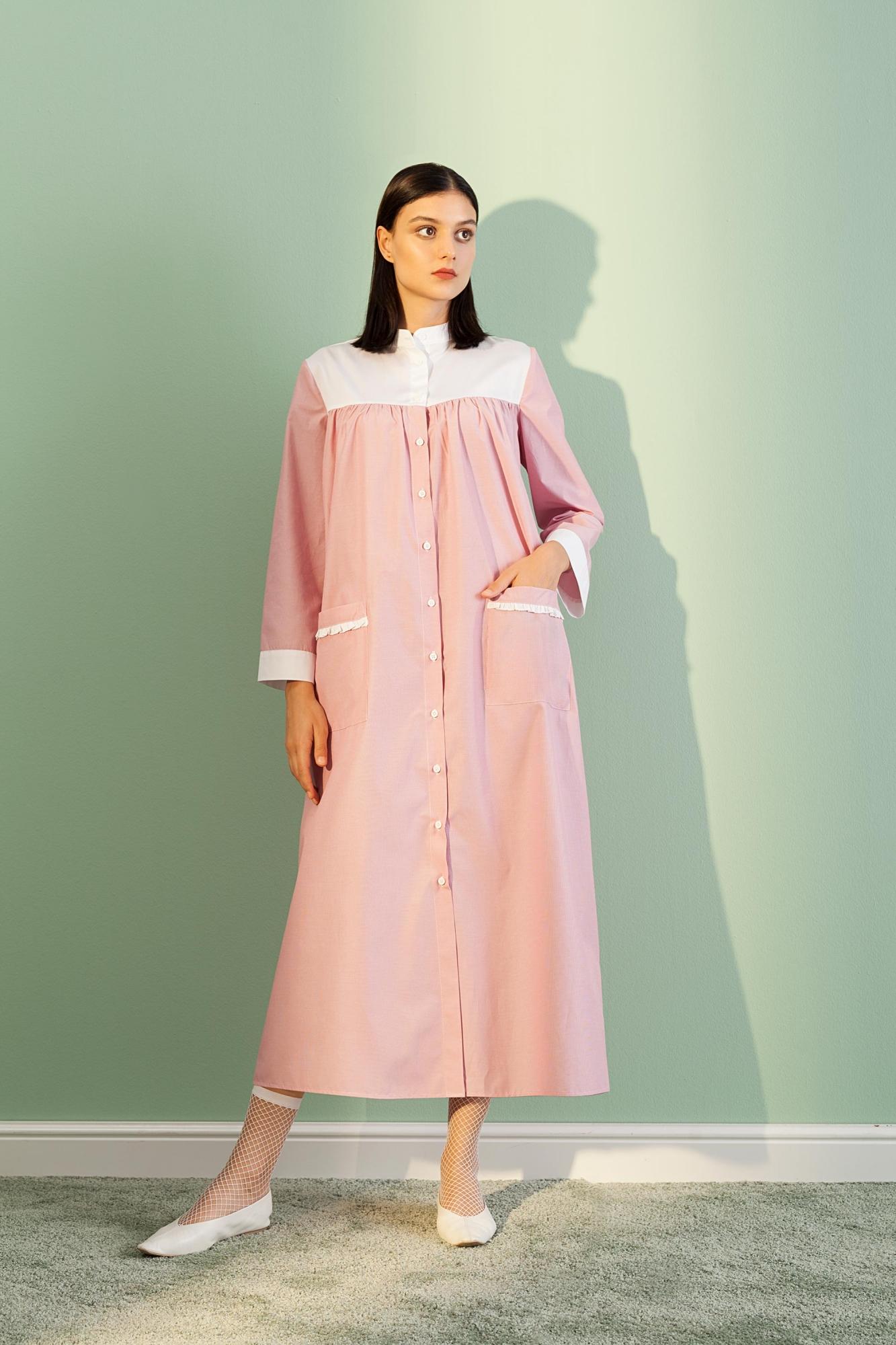 Kuaybe Gider - 2074 Elbise Kırmızı
