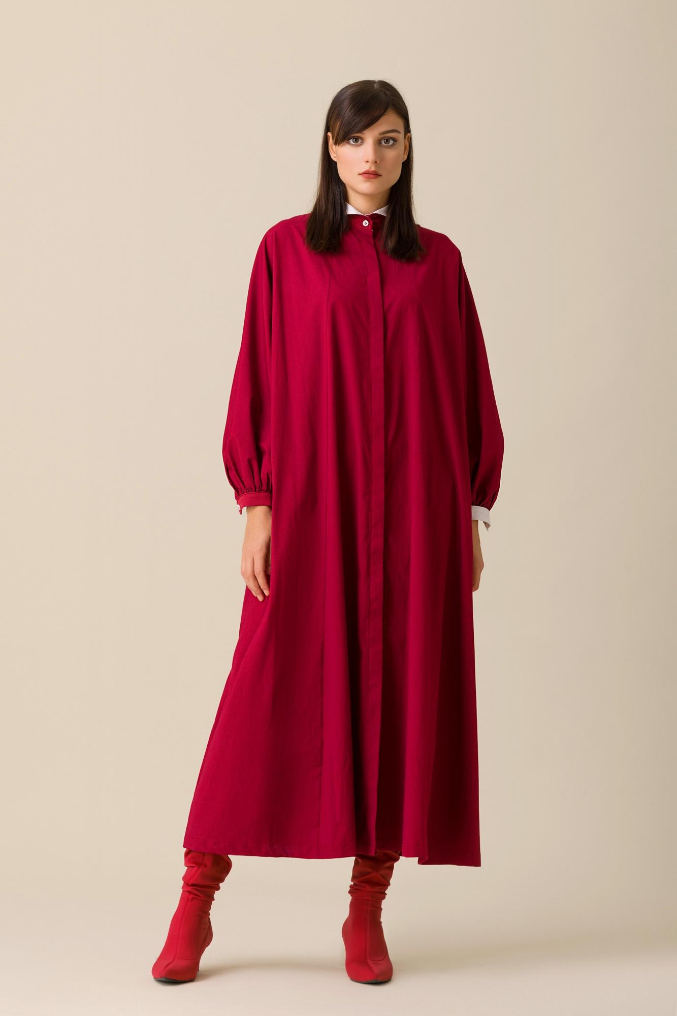 Kuaybe Gider - 2079 Elbise Bordo