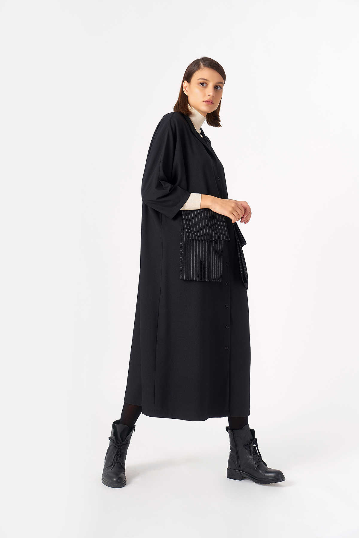 Kuaybe Gider - 2083 Elbise Siyah