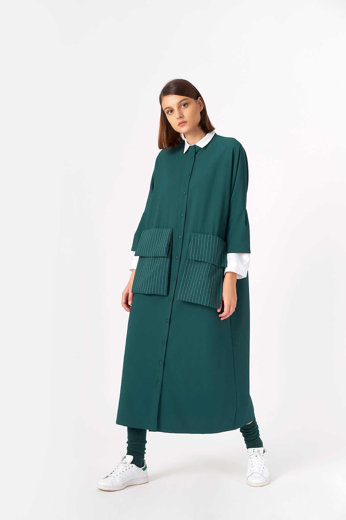 Kuaybe Gider - 2083 Elbise Yeşil