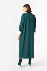2083 Elbise Yeşil - Thumbnail