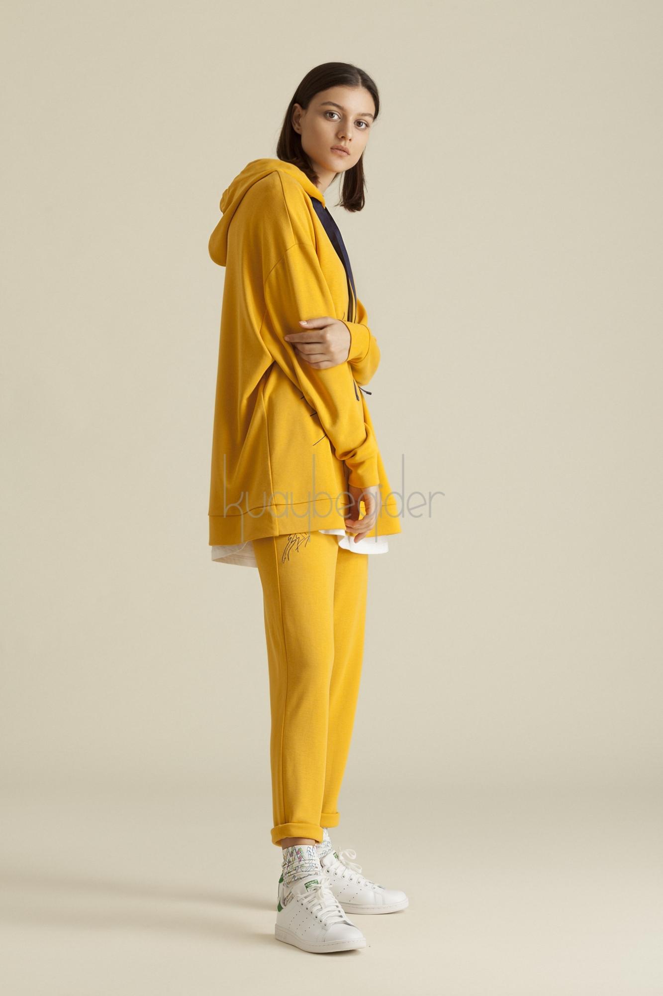 Kuaybe Gider - 4044 Eşofman Altı Sarı