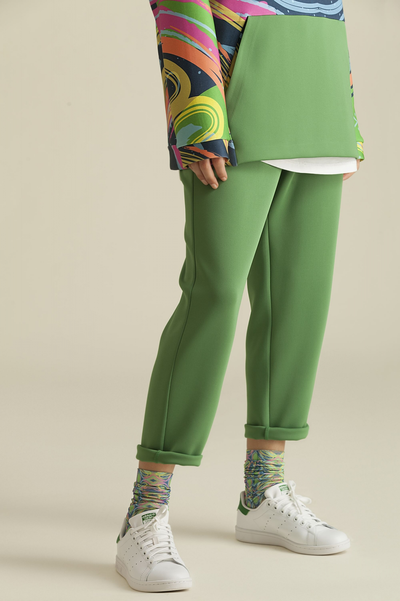 Kuaybe Gider - 4044 Eşofman Altı Yeşil