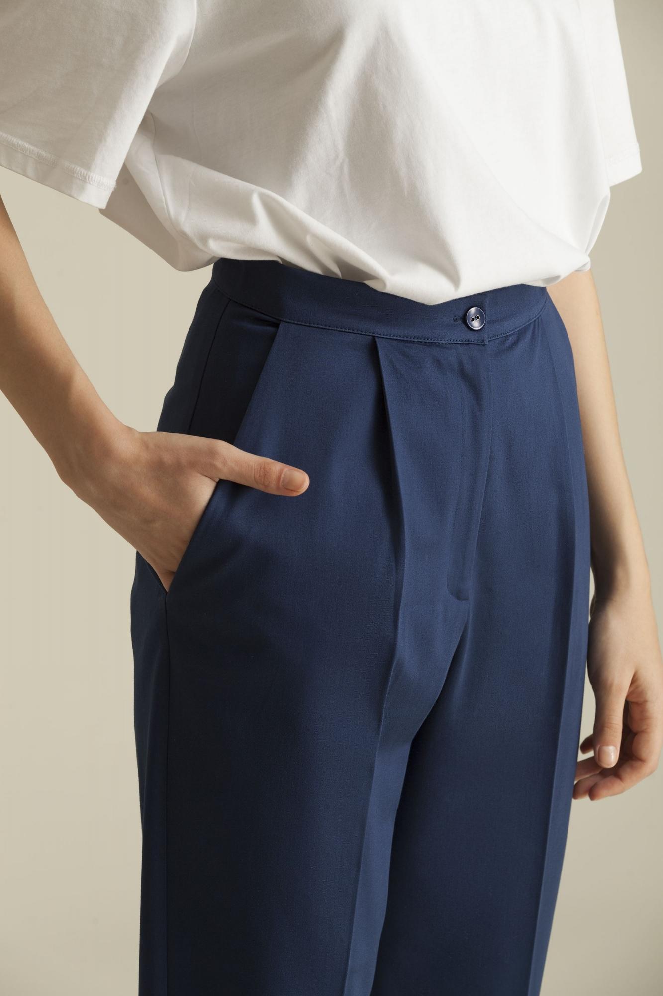 4045 Şalvar Pantolon Lacivert
