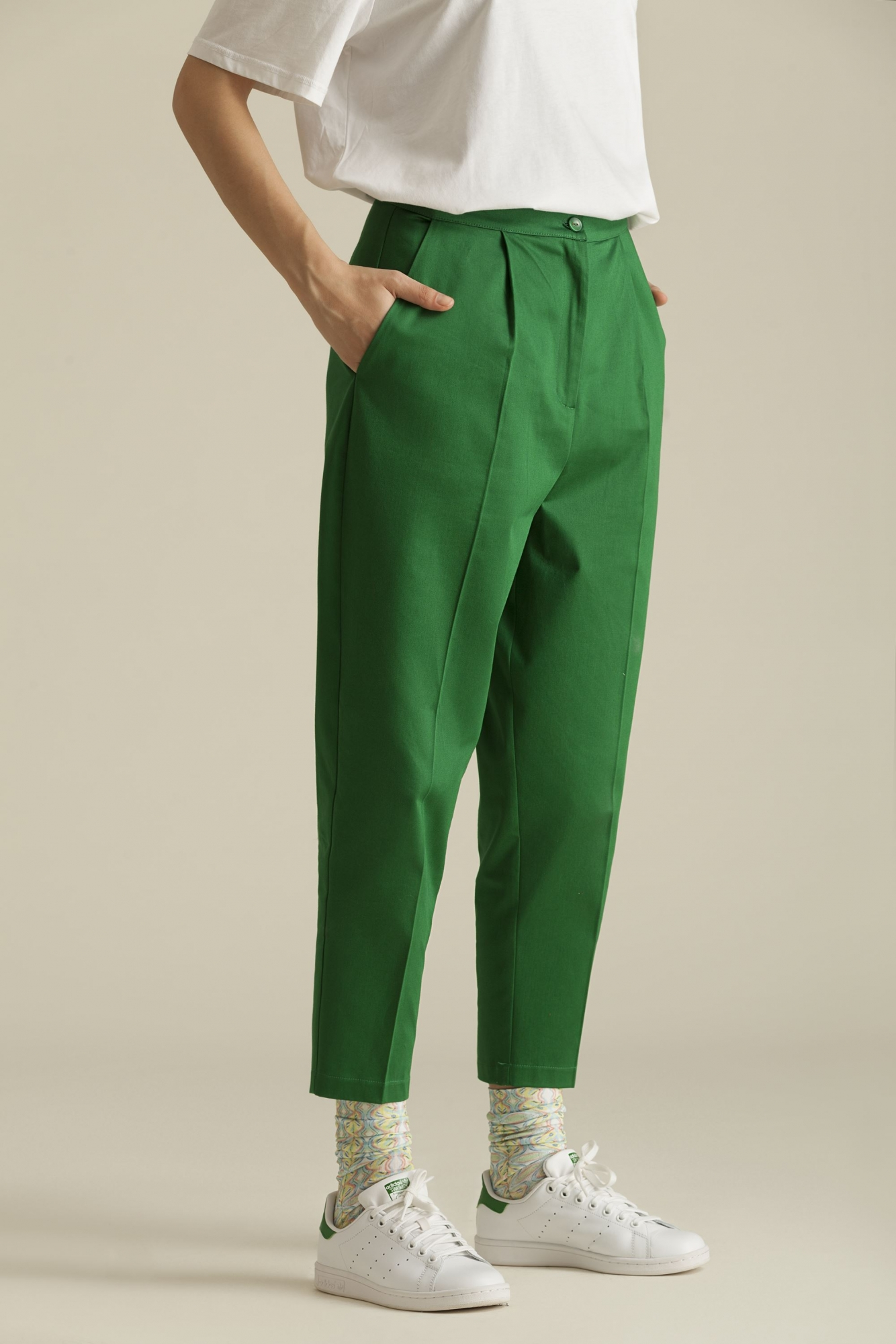 Kuaybe Gider - 4045 Şalvar Pantolon Yeşil