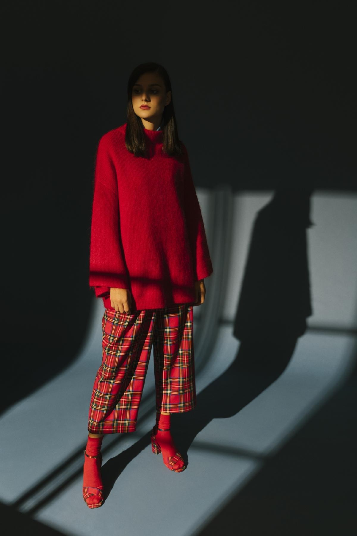 4048 Pantolon Kırmızı