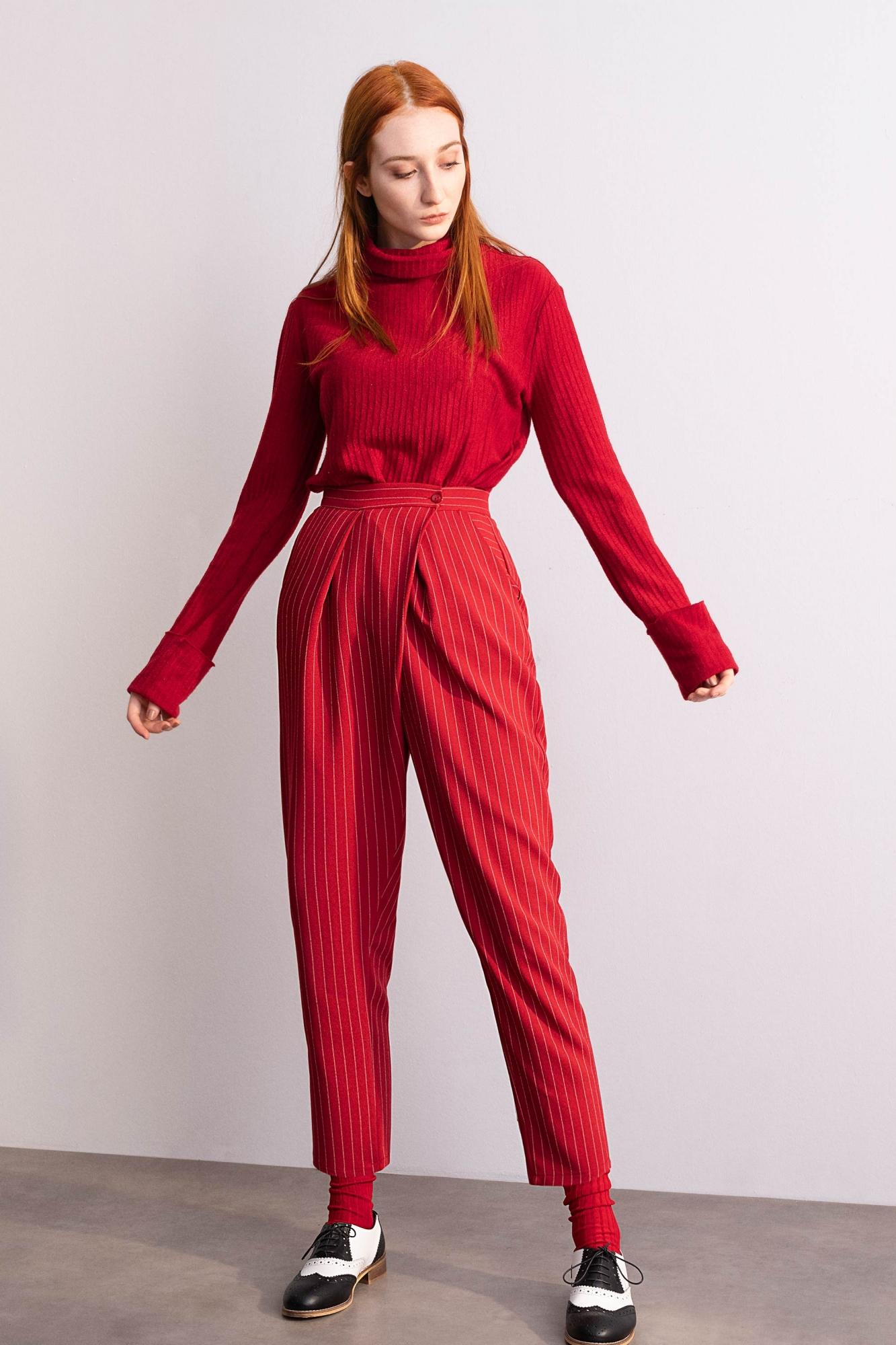 Kuaybe Gider - 4053 Pantolon Kırmızı