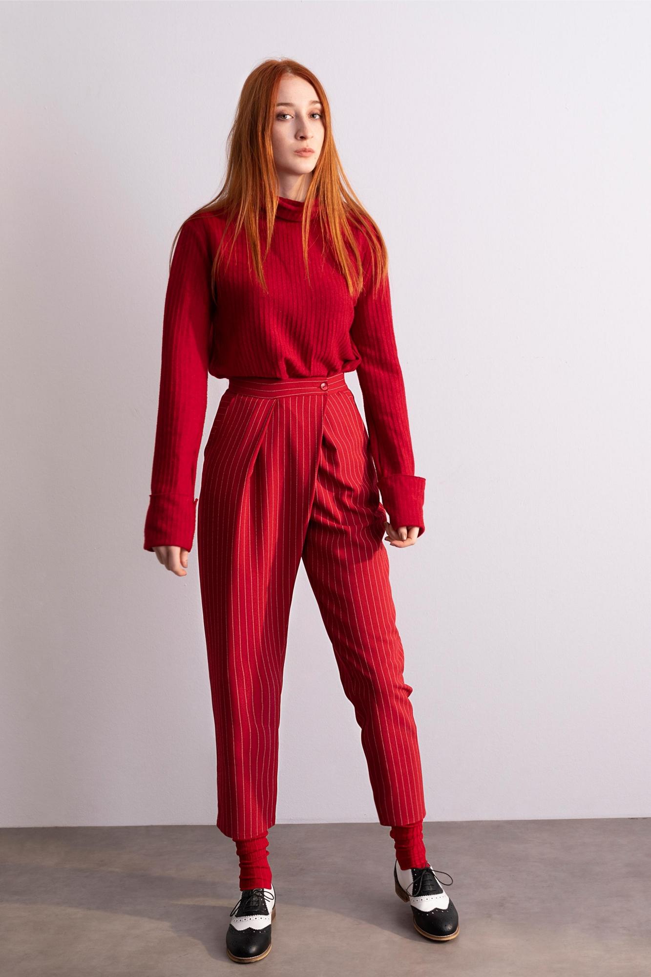 4053 Pantolon Kırmızı