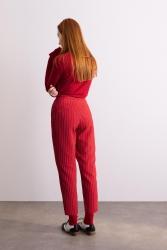 4053 Pantolon Kırmızı - Thumbnail