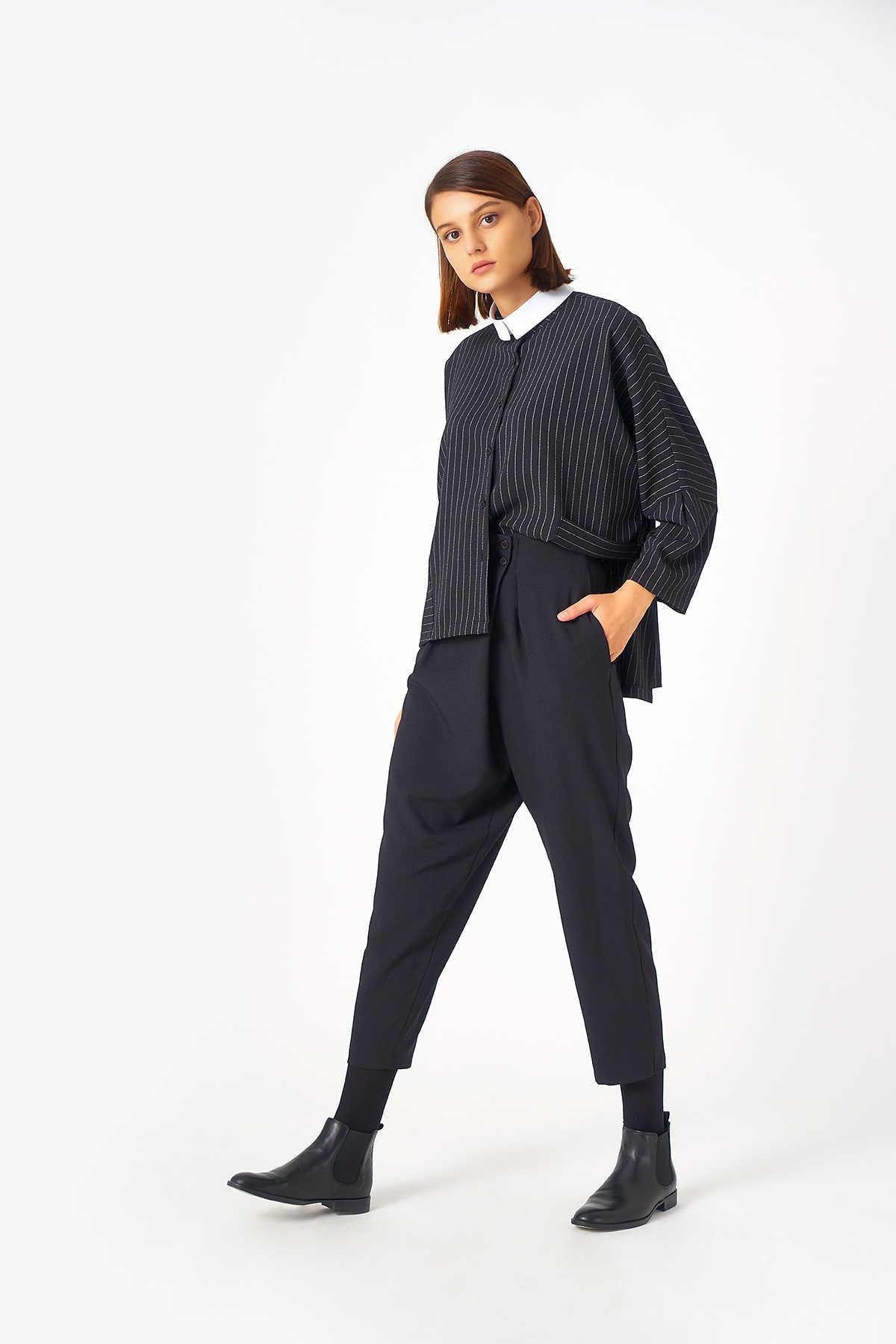 Kuaybe Gider - 4054 Pantolon Siyah