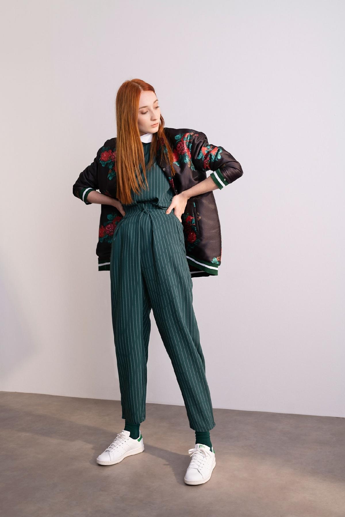 Kuaybe Gider - 4055 Pantolon Yeşil