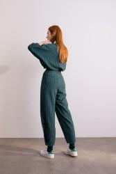 4055 Pantolon Yeşil - Thumbnail