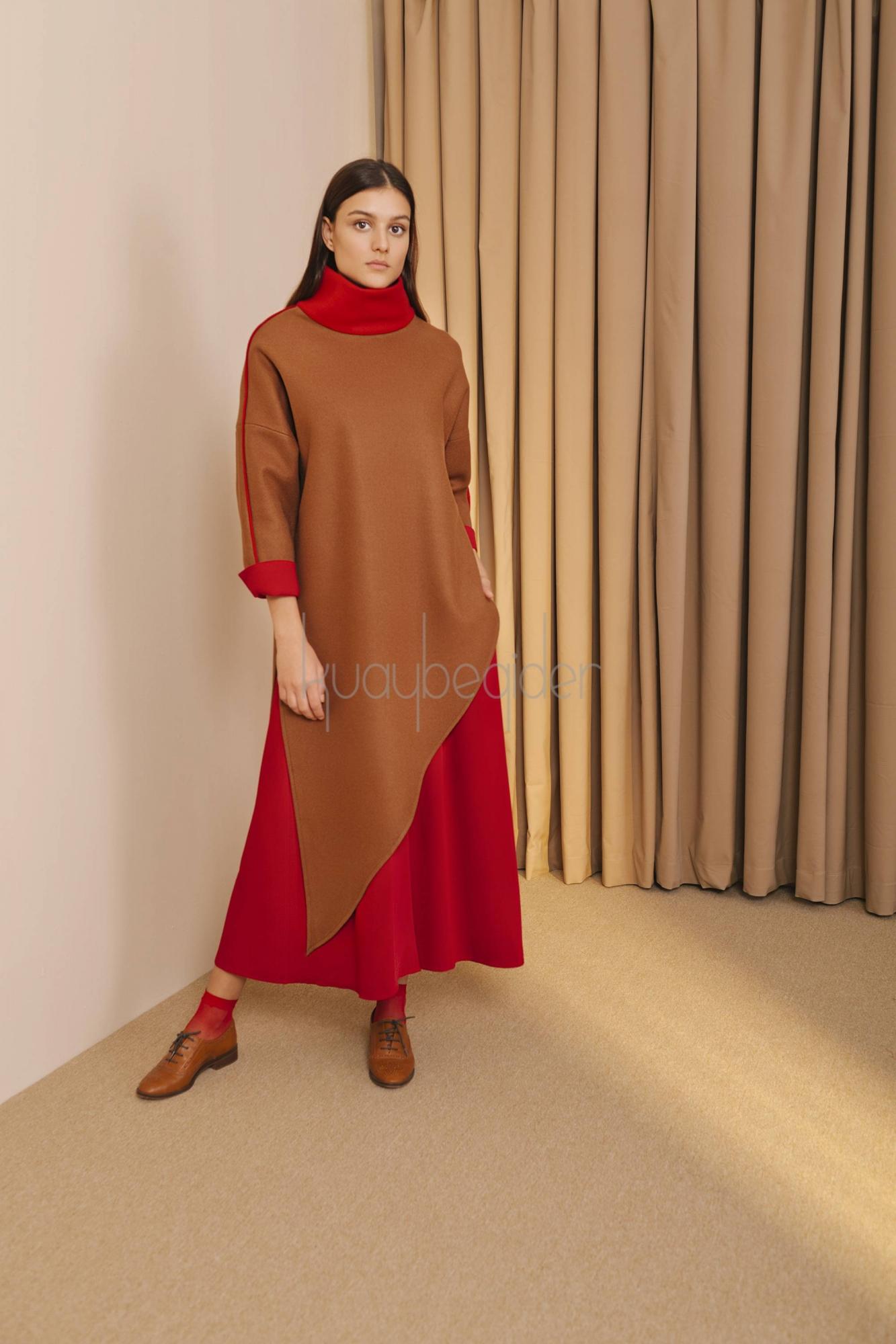 Kuaybe Gider - 5093 Tunik Camel