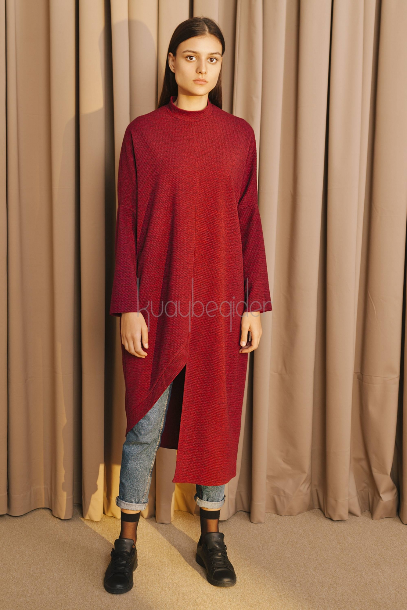 Kuaybe Gider - 5095 Tunik Bordo