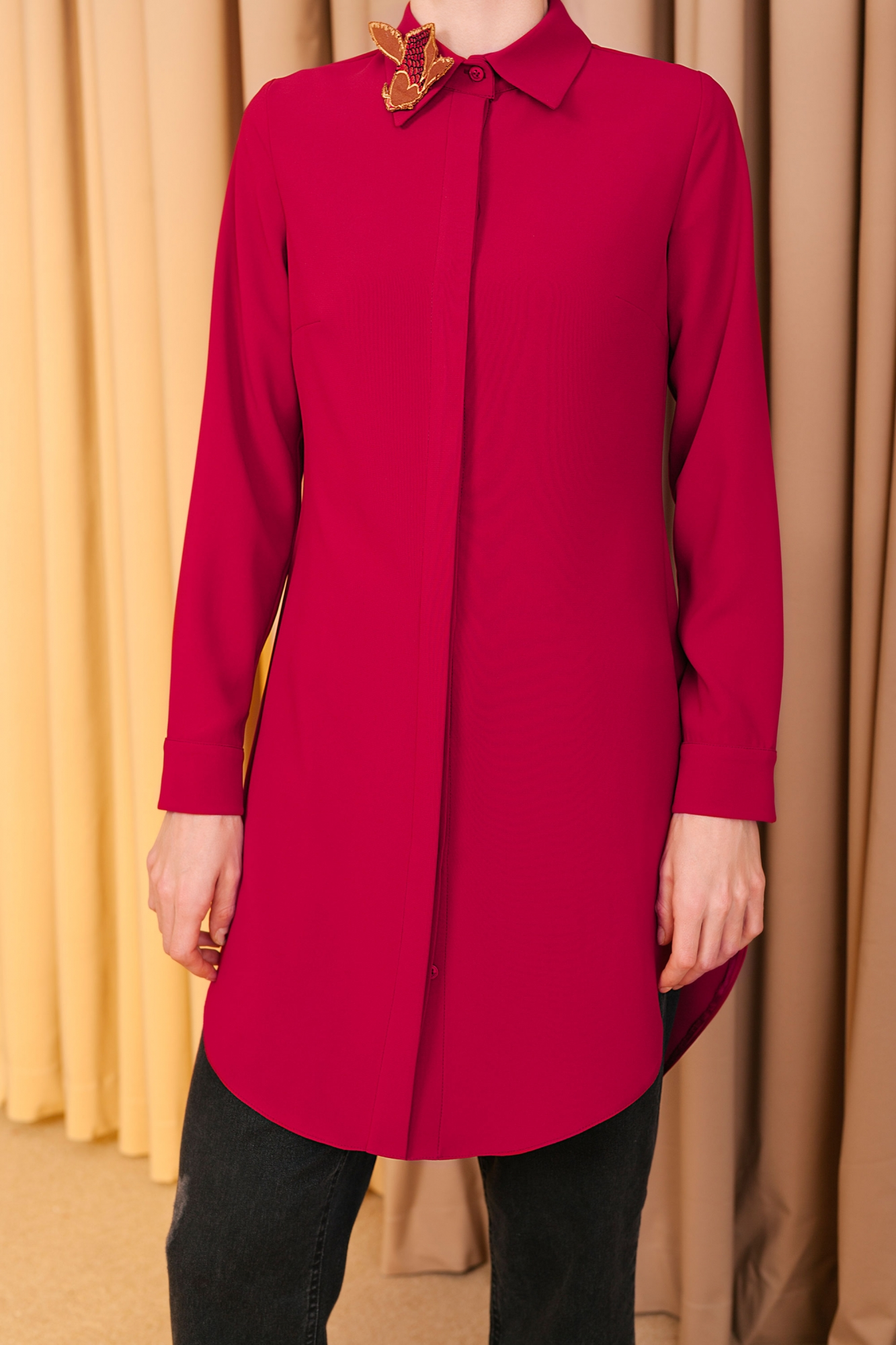 Kuaybe Gider - 5096 Tunik Bordo