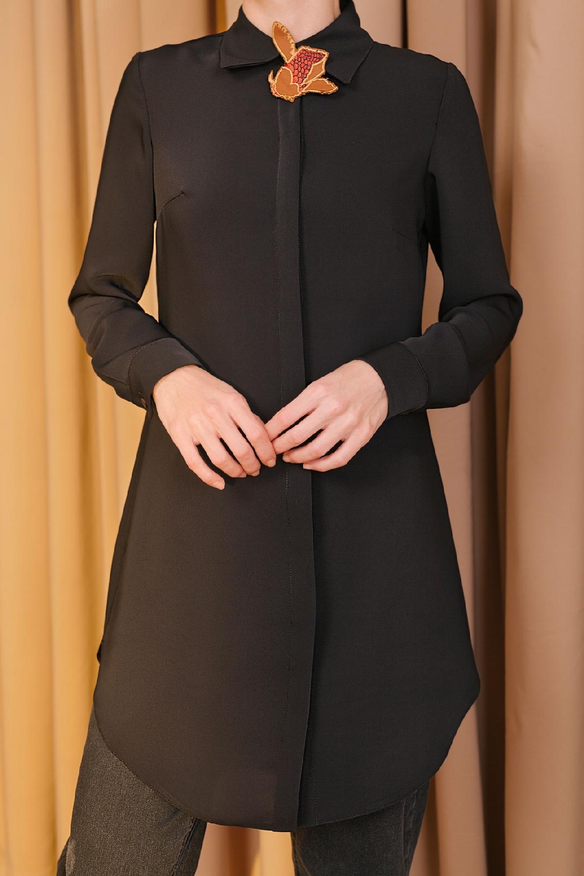 Kuaybe Gider - 5096 Tunik Siyah