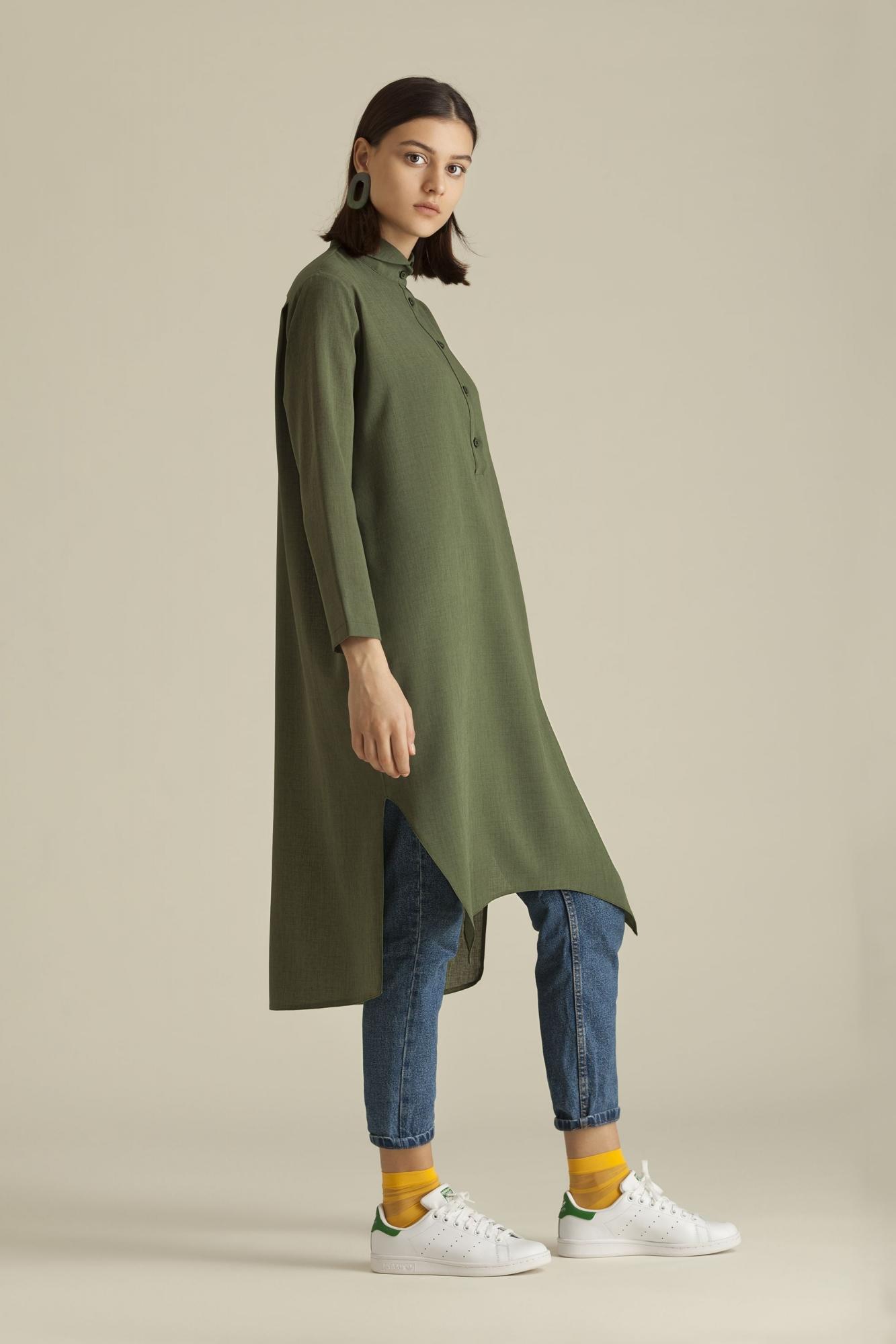 Kuaybe Gider - 5099 Tunik Yeşil