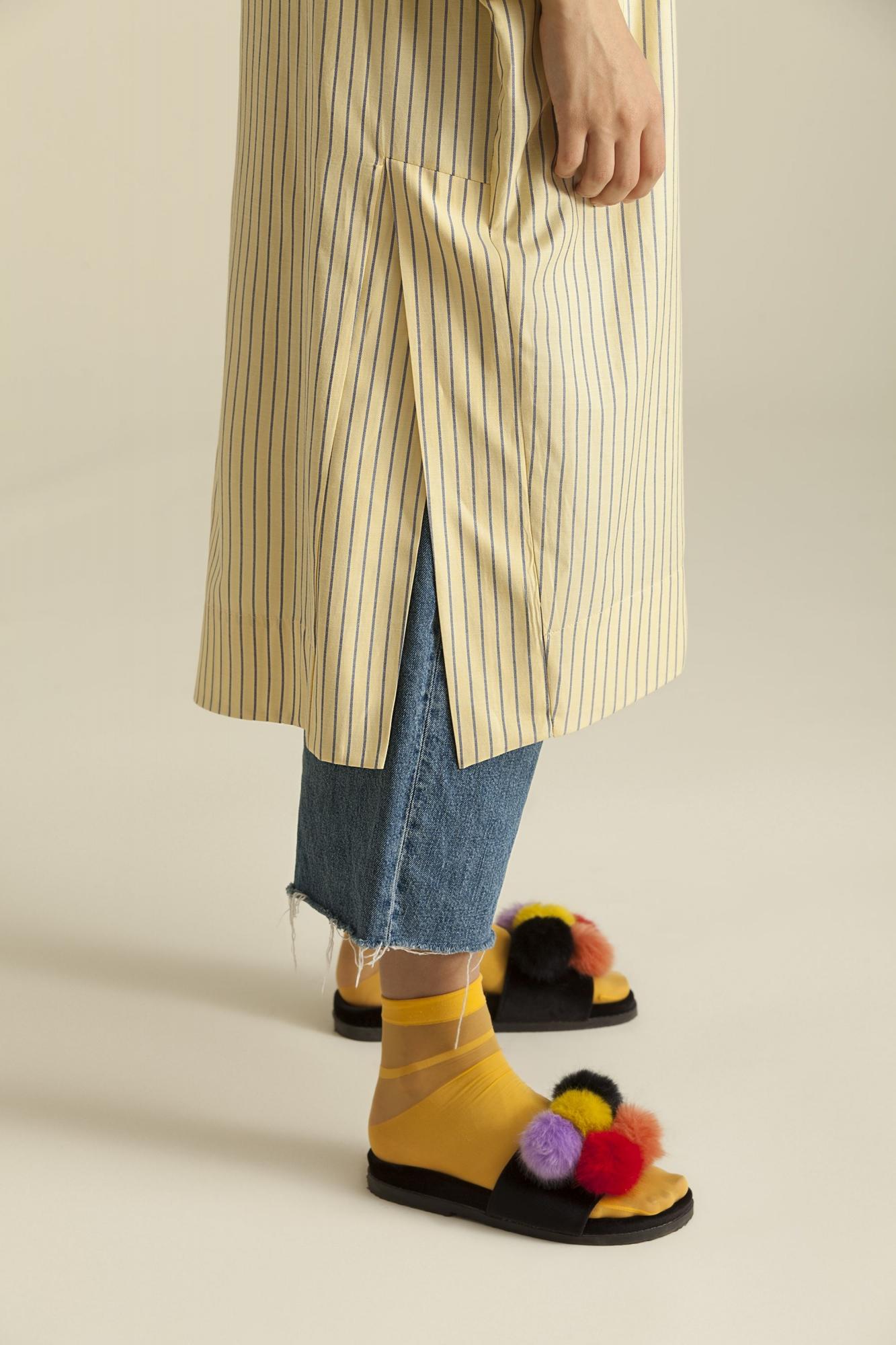 5108 Tunik Sarı Çizgili