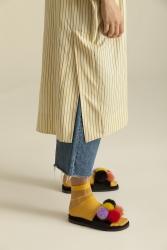 5108 Tunik Sarı Çizgili - Thumbnail