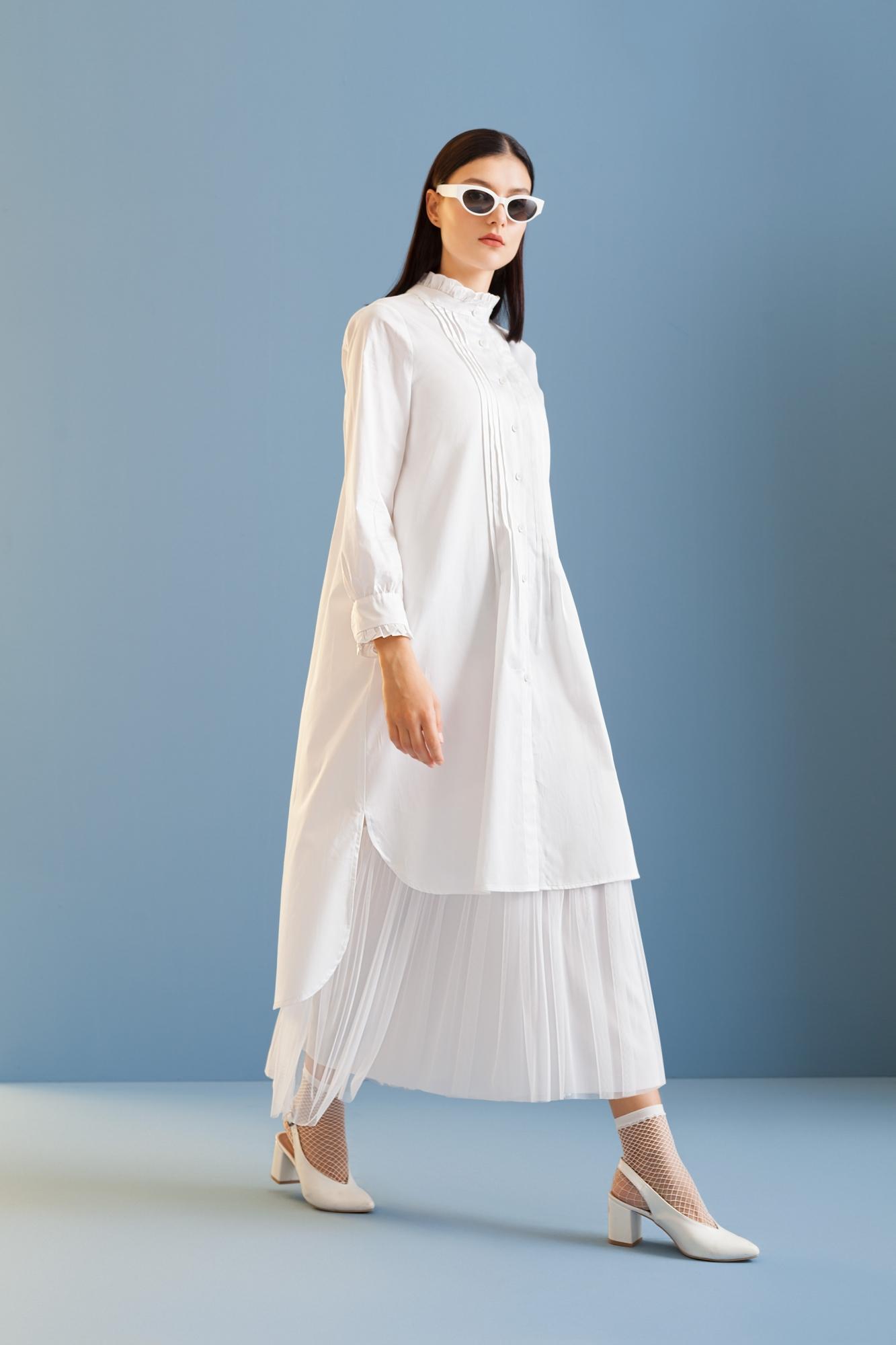 Kuaybe Gider - 5110 Tunik Beyaz