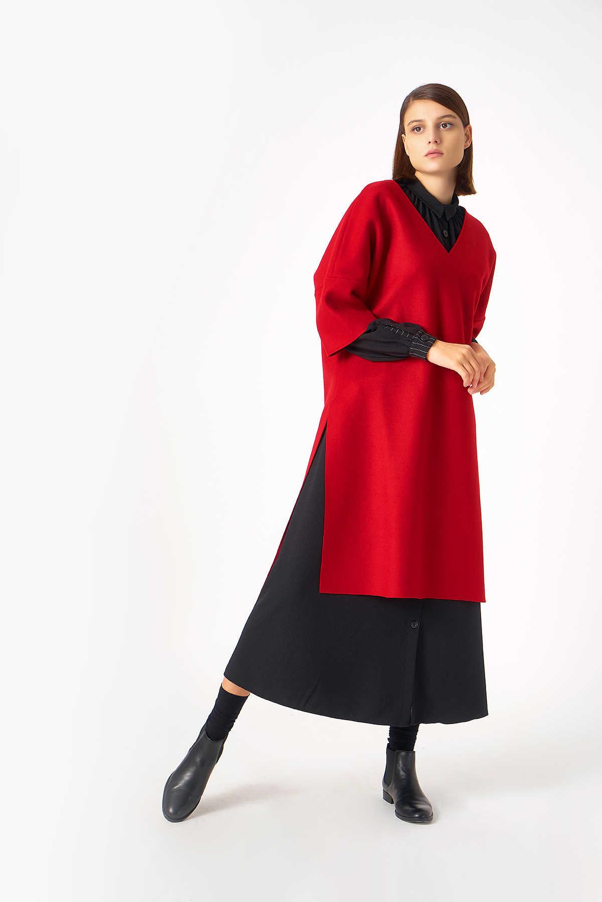Kuaybe Gider - 5114 Tunik Kırmızı