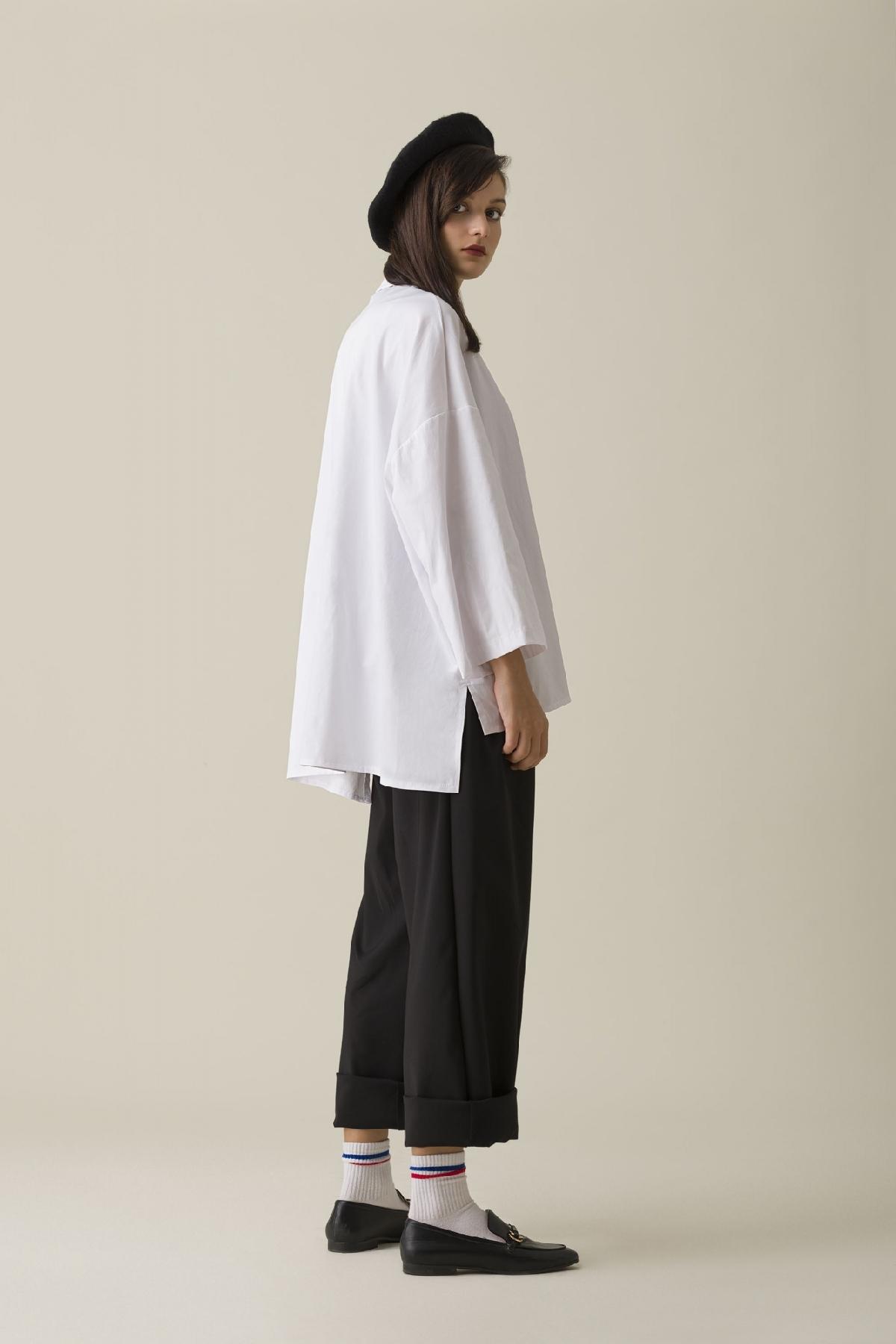 Kuaybe Gider - 5116 Tunik Beyaz